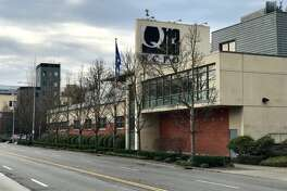 The KCPQ-TV studios on Westlake Avenue N. in Seattle.