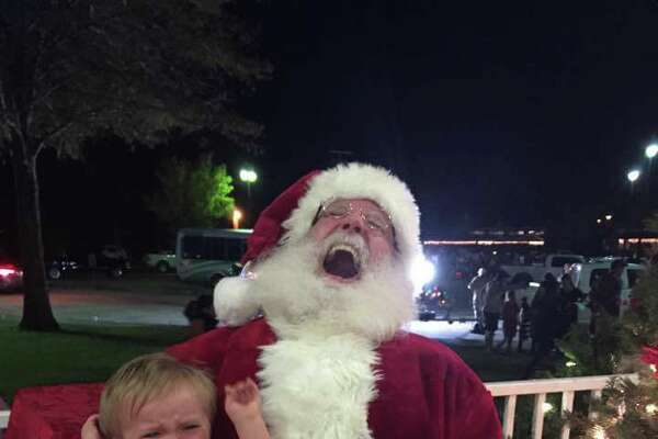 From smiles to a few tears, Santa Claus made some memories for local kiddos.