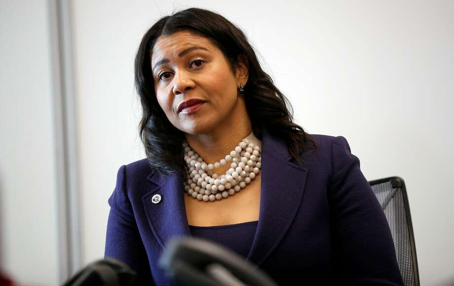 San Francisco Board of Supervisors President London Breed during a briefing with city officials on Dec. 13, 2017, when Breed was acting mayor. Photo: Michael Macor, The Chronicle