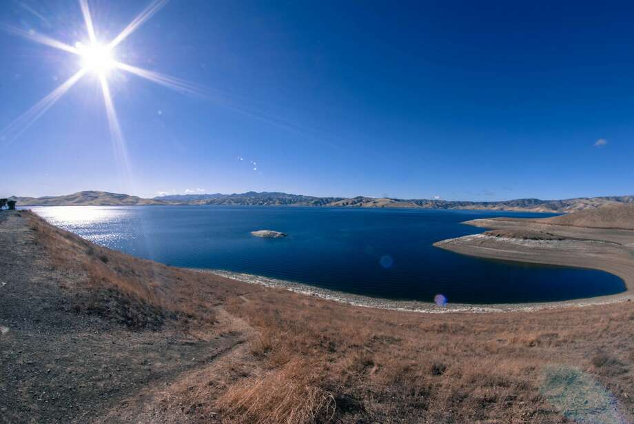 The San Louis Reservoir Photo: Brandon Michel / IG: @theburritowhisperer