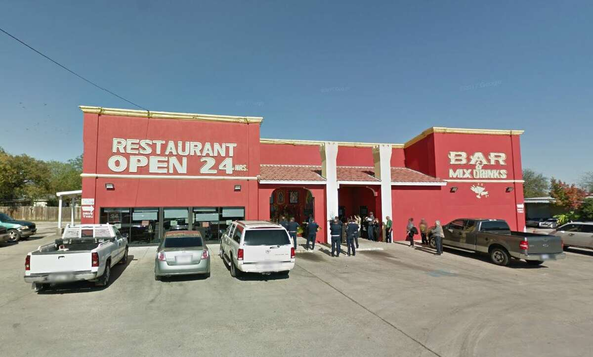 Torreon Mexican Restaurant: 1505 Culebra Road, San Antonio, TX 78201  Date: 12/12/2017 Score: 67 Highlights: Food not held at correct temperature (beans); food not protected from cross-contamination; ware washing machine not sanitizing dishes properly; food-contact surfaces must be clean to sight/touch (dish machine, soda gun and holster); employee seen putting on gloves without first washing hands; no Certified Food Manager present at time of inspection; prepared foods must be labeled with expiration date; consumer advisory consumption needed for raw, undercooked foods; food found stored in non-food grade bags; food storage containers must be in good repair