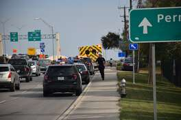 San Antonio police responded Friday afternoon, Dec. 15, 2017, to a shooting at the Silver Ridge apartment complex, in the 8400 block of Quail Creek, where multiple people were reported injured.