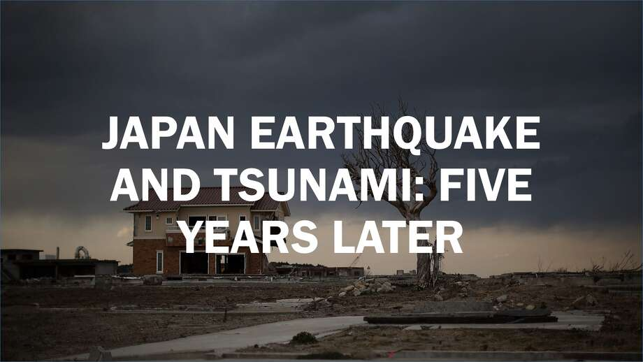 Japan earthquake and tsunami: five years later Photo: Getty Images