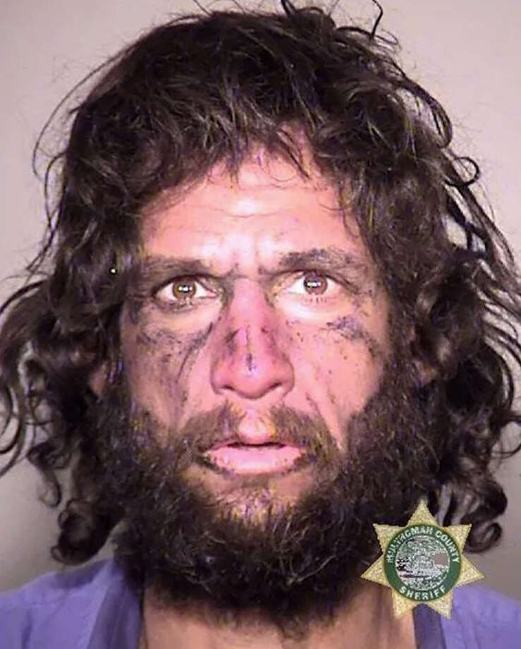 Brent Shannon Thicksten, 43, of Oregon, was arrested after he told police that he stabbed a stranger because Taylor Swift told him to do so.Swipe through to see some other wild crimes committed in Texas this year. Photo: Multnomah County Sheriffs