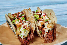BBQ Pork Taco at Hurricane Grill & Wings