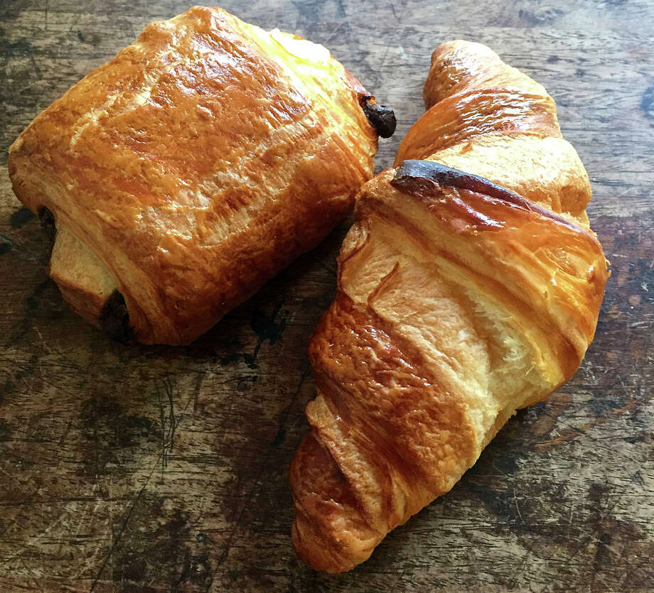 A breakfast offering at Hermann Eicke: Pain au chocolat. Photo: Hermann Eicke. / The Washington Post