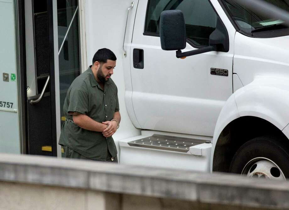 Luis De Jesus Rodriguez, 26, arrives at federal court on Friday, Dec. 15, 2017, in Houston. Photo: Godofredo A. Vasquez, Houston Chronicle / Godofredo A. Vasquez