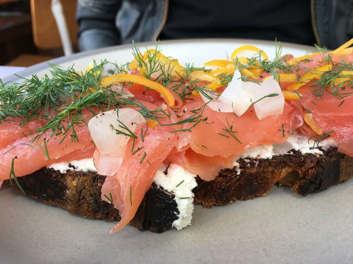 Tartine Manufactory 595 Alabama St., San Francisco Smoked salmon and cream cheese is a classic combo, but put it on Tartine's fresh-baked bread and it becomes a San Francisco staple. Although this toothsome toast is deceivingly categorized as a