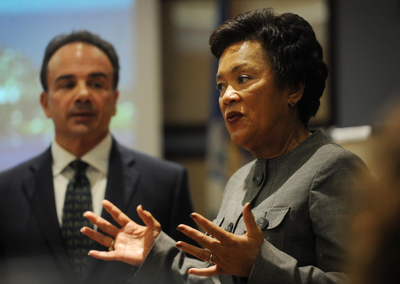 New Haven's Toni Harp a popular choice for running mate