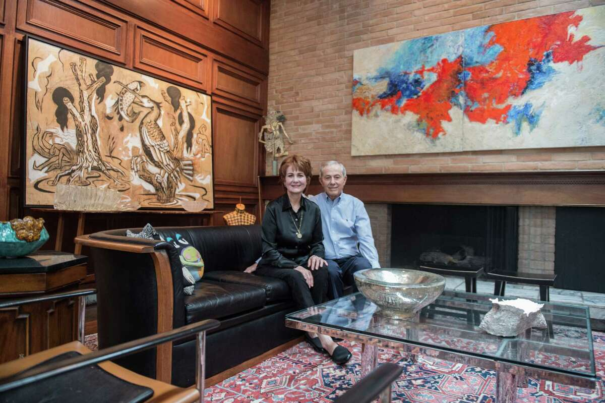 Crystal and Don Owens' home is still full of its mid-century modern charm.