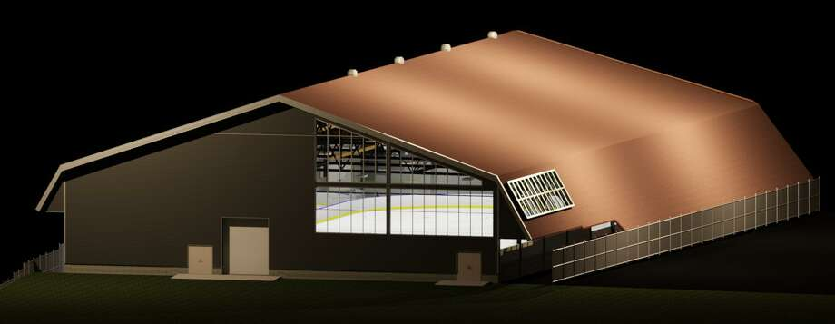 Renderings of the renovated Ralph Walker Ice Rink in New Haven. Photo: New Haven Engineering Department