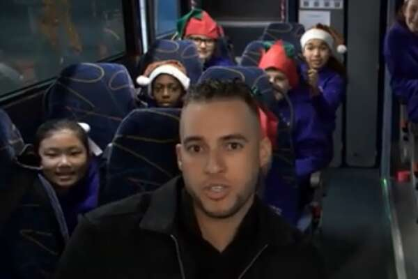 Astros star spreads holiday cheer