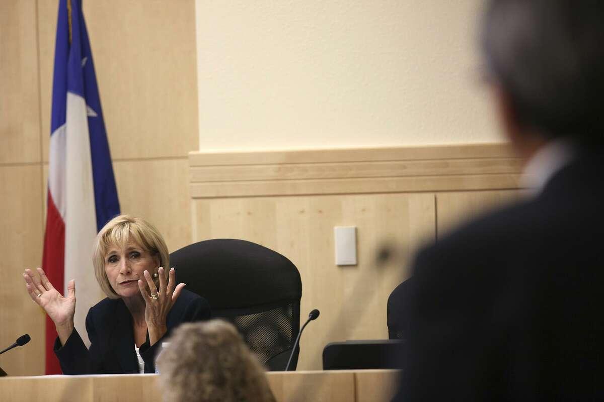 Connie Prado, seen in 2012, was recently installed as board president - a singularly bad development.