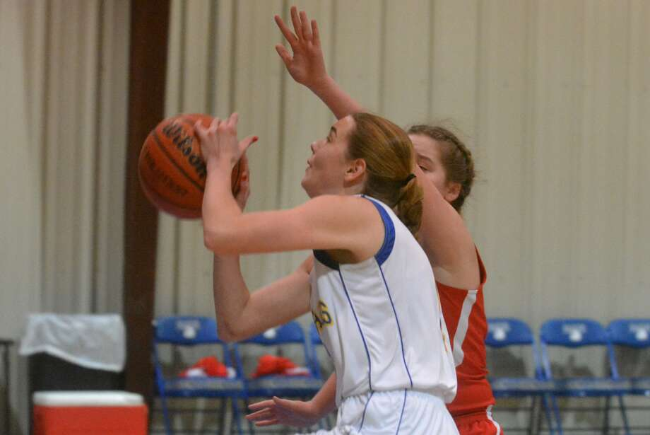 Plainview Christian Academy's Kylee Hill scored 26 points Friday to help the Lady Eagles to a victory over Shamrock at the Valley Tournament. Photo: Skip Leon/Plainview Herald
