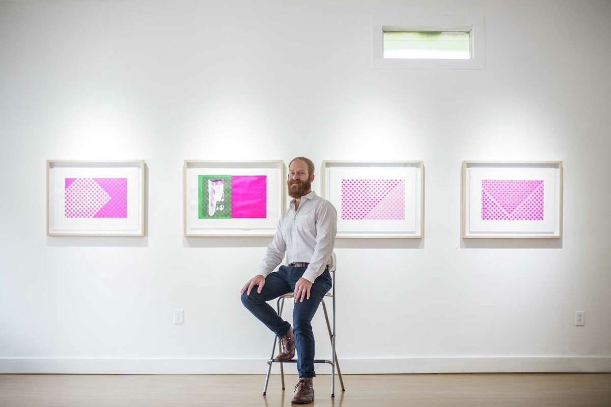 Joseph Cohen's work is on view at the G Spot Gallery in the Heights.