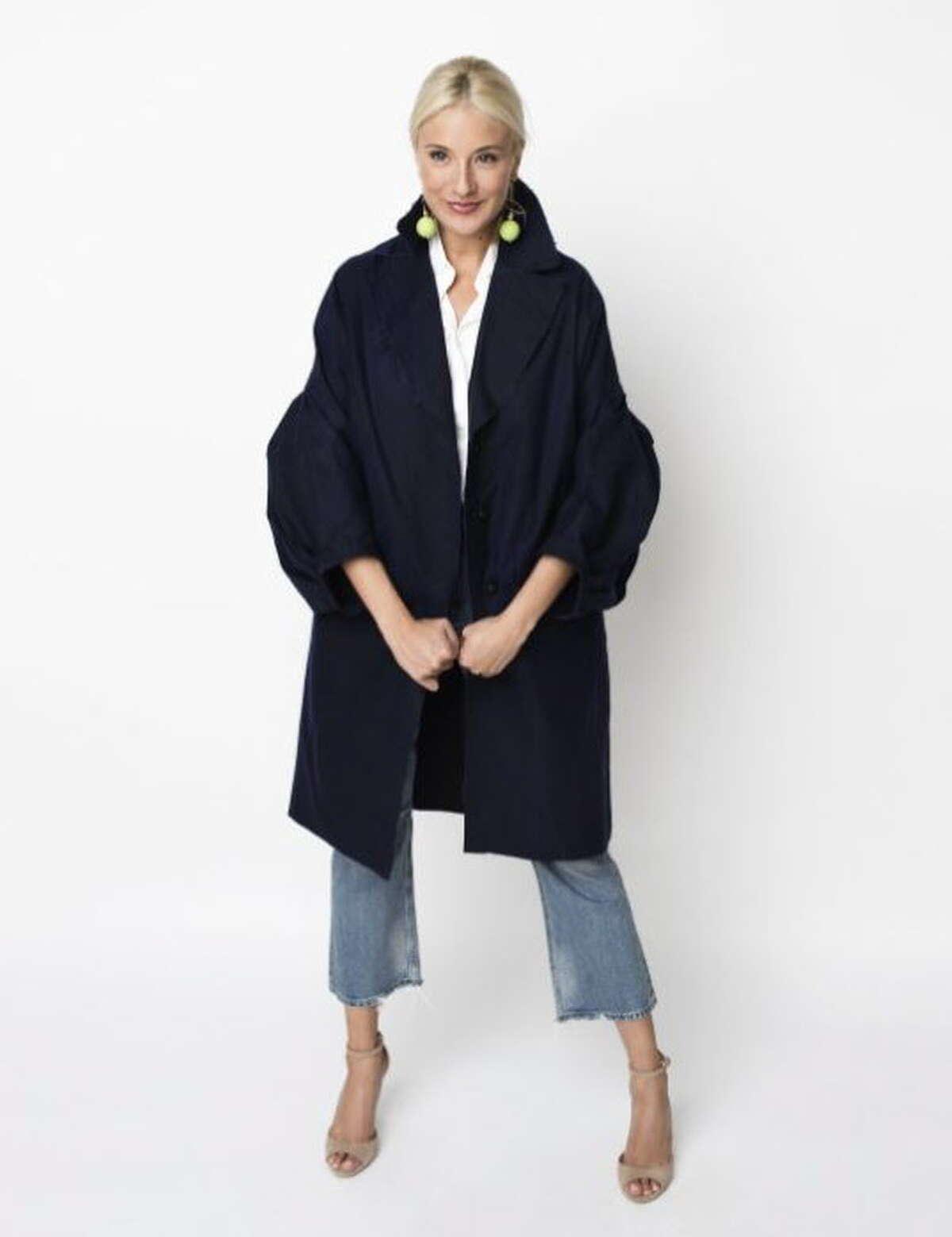 Tish Cox Allison raincoat ($795)