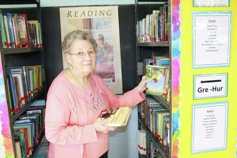 Over a period of years, Erma Rummel taught at Sebewaing, Unionville and Pigeon schools. She continued teaching and going to college until she earned her teaching degree. She stopped teaching full time in the early to mid-1960s. However, she continued to teach as a substitute teacher. (Rich Harp/For the Tribune)