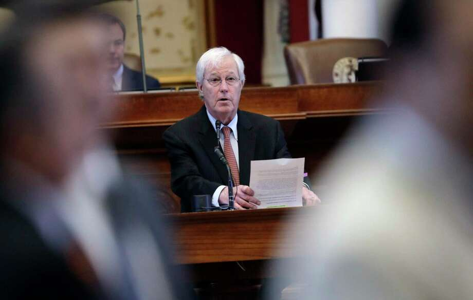 Texas Rep. Charlie Geren, R-Fort Worth, has revised legislative workplace rules to address sexual harassment, but the requirement for training does not include the legislators themselves. Photo: Eric Gay /Associated Press / Stratford Booster Club