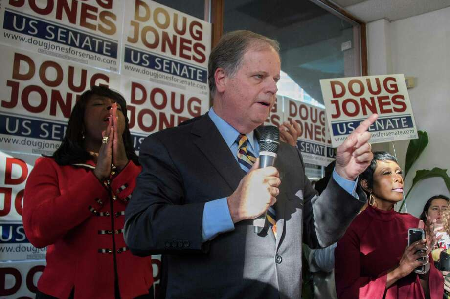 Thank you, voters, for seeing the decency of Doug Jones, even though he is a Democrat. Photo: JIM WATSON /AFP /Getty Images / AFP or licensors