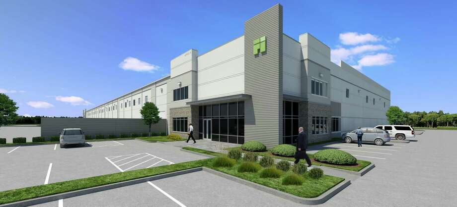 First Industrial Realty Trust broke ground Dec. 1, 2017, on a 126,250-square-foot distribution center in northwest Houston. Photo: Courtesy Of First Industrial Realty Trust