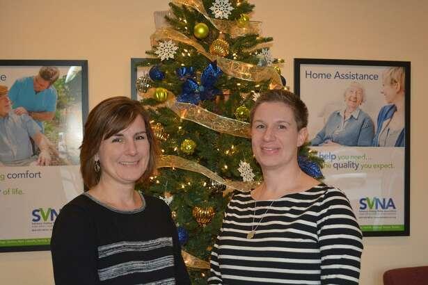 SVNA's Executor Director, Michele Kearns, left, and the SVNA's new clinical director, Stephanie Baldwin, RN.