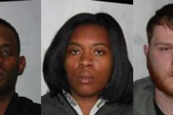 Left to right: Michael Charleston of Troy, Verquana Wallace of Troy, and Paul Gottlieb of Albany
