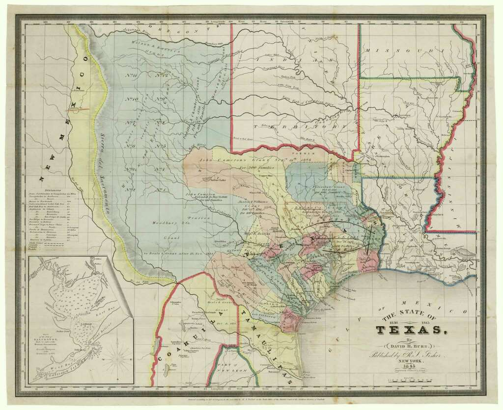 Conserving History With Map Sales San Antonio ExpressNews - Us map san antonio