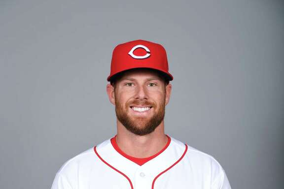 GOODYEAR, AZ - FEBRUARY 18:  Zach Cozart #2 of the Cincinnati Reds poses during Photo Day on Saturday, February 18, 2017 at Goodyear Ballpark in Goodyear, Arizona.  (Photo by Robert Binder/MLB Photos via Getty Images) *** Local Caption *** Zach Cozart