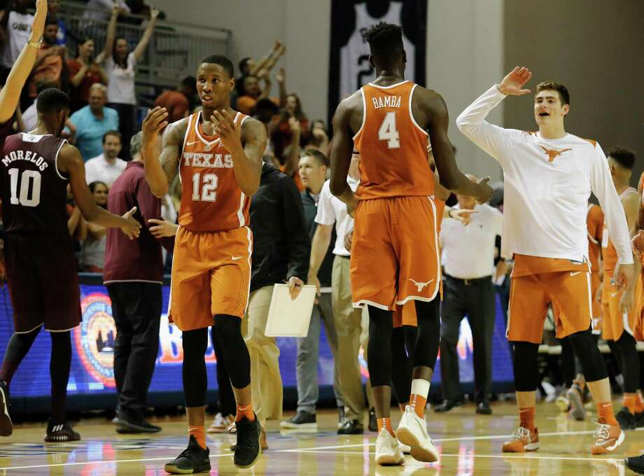 Texas guard Kerwin Roach will have to carry more defensive responsibility with the loss of Andrew Jones. Photo: Tim Warner, Freelance / Houston Chronicle