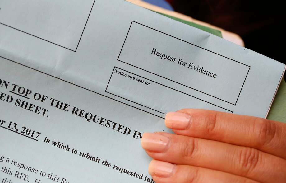 More H-1B applications are receiving requests for evidence. Photo: Lea Suzuki, The Chronicle