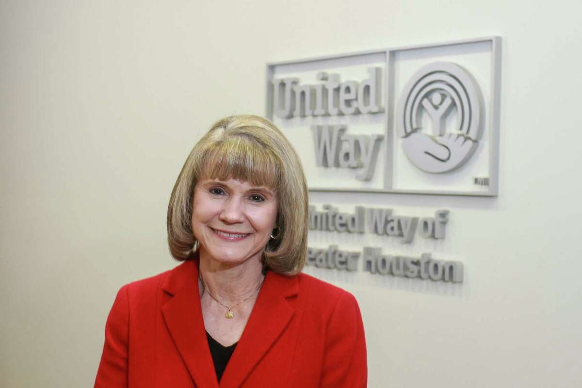 Anna Babin, CEO of United Way of Houston. (For the Chronicle/Gary Fountain, December 7, 2017)