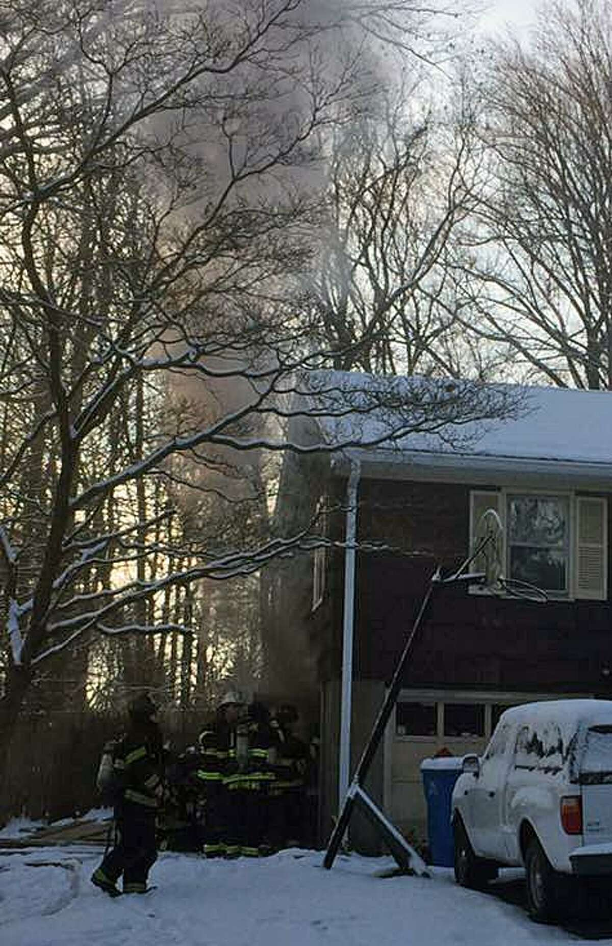 The Monroe Fire Department responded to Osborne Lane on Saturday, Dec. 16, 2017, for smoke coming from a residence. While en route, firefighters received an additional call about a structure fire just down the road. Both fires were extinguished and no injuries were reported.