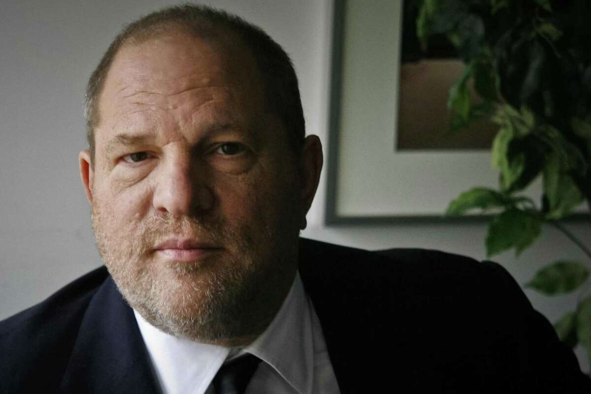 FILE - In this Nov. 23, 2011 file photo, film producer Harvey Weinstein poses for a photo in New York. For two months now, as accusations of sexual misconduct have piled up against Weinstein, the disgraced mogul has responded over and over again with the same words: