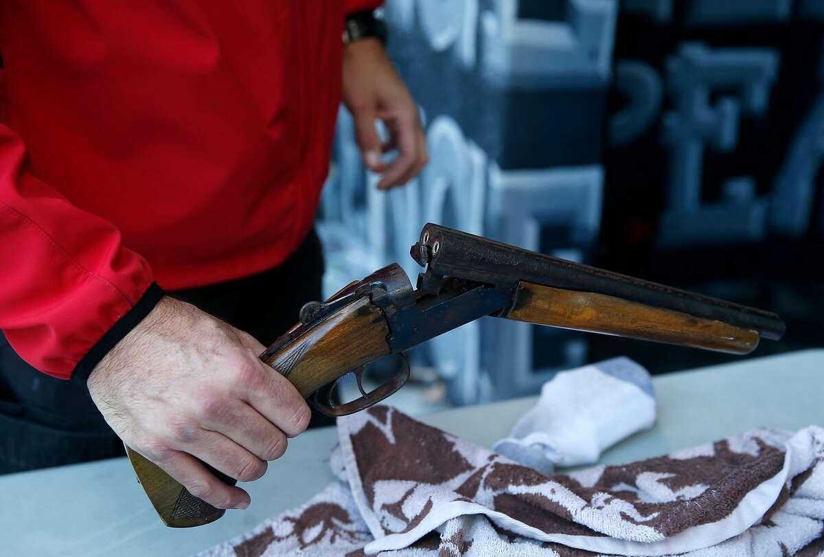 File photo of a 2017 gun buy-back in San Francisco.