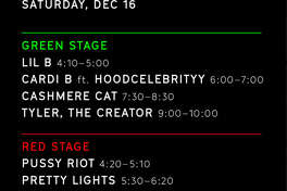 Set time changes announced by Day for Night