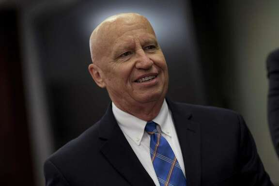 U.S. Rep. Kevin Brady, a Republican from Texas and chairman of the House Ways and Means Committee, arrives to a House-Senate conference meeting on the GOP led tax reform bill at the U.S. Capitol on Dec. 13, 2017. .(Aaron P. Bernstein / Bloomberg)