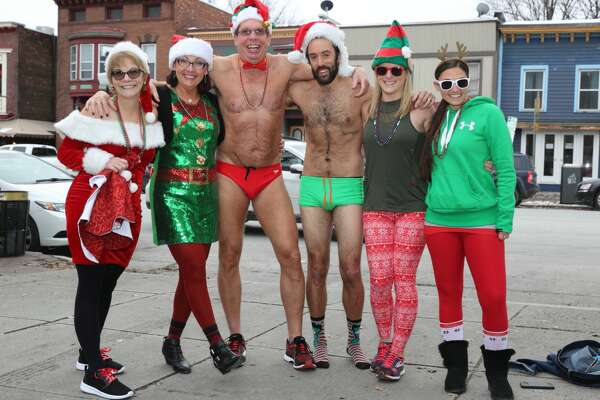 Were You Seen at the 12th Annual Santa Speedo Sprint on Lark Street in Albany on Saturday, December 16, 2017?
