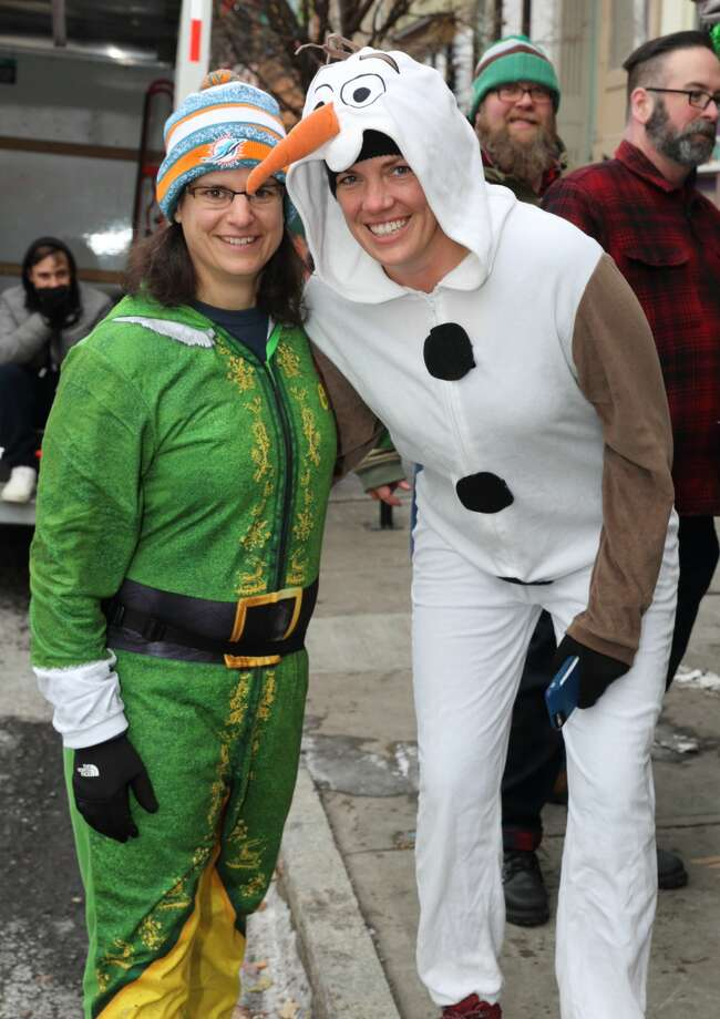 Were You Seen at the 12th Annual Santa Speedo Sprint on Lark Street in Albany on Saturday, December 16, 2017?Did we miss you at the event? Share your photos on Instagram with the hashtag #TUSeen, and we'll feature them in our gallery. Photo: Gary McPherson - McPherson Photography