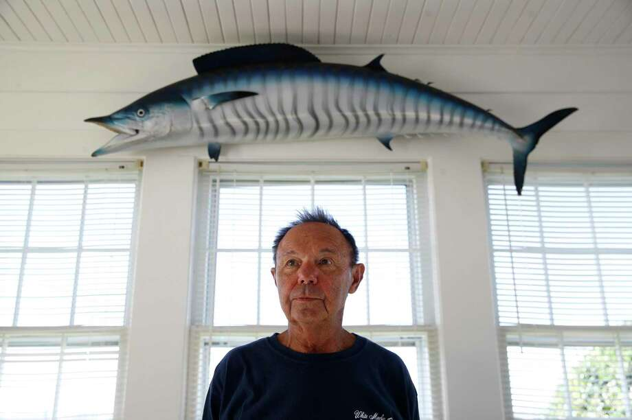"""""""I call it the velvet hammer,"""" White Marlin Open's Jim Motsko says of polygraphs used in fishing contests. Photo: Patrick Semansky, STF / Copyright 2017 The Associated Press. All rights reserved."""