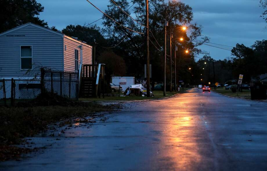 FEMA trailers remain throughout Baton Rouge nearly a year and a half after the region suffered widespread flooding.  Photo: Jon Shapley/Houston Chronicle