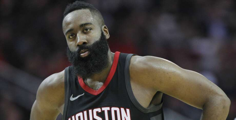 PHOTOS: Rockets game-by-gameRockets guard James Harden chose to play Saturday's game despite pain in his right knee.Browse through the photos to see how the Rockets have fared through each game this season. Photo: Elizabeth Conley/Houston Chronicle
