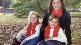 Kelly Huber and her children