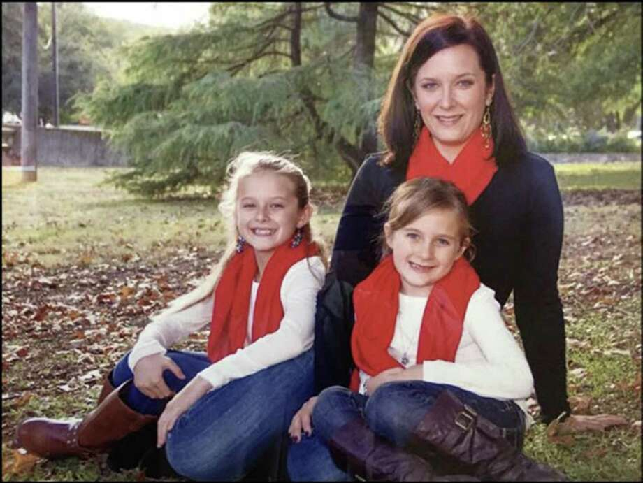 Kelly Huber and her children Photo: Courtesy Photo