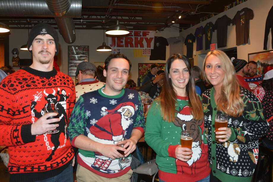 New England Brewing Co. in Woodbridge held an ugly sweater party on December 16, 2017. Guests donned their finest ugly sweaters, enjoyed beer and food and donated toys to Yale-New Haven Children's Hospital Were you SEEN? Photo: Vic Eng / Hearst Connecticut Media Group