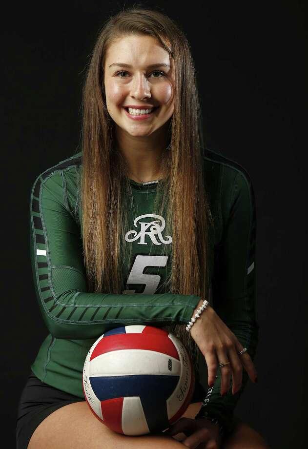 Portrait of Reagan's Camryn Ennis, 2017 Express-News All-Area Volleyball Player of the Year   Sunday Dec. 10, 2017. Photo: Edward A. Ornelas, Staff / San Antonio Express-News / © 2017 San Antonio Express-News