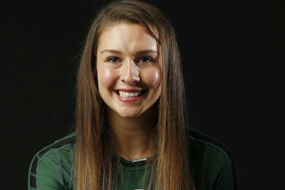 Portrait of Reagan's Camryn Ennis, 2017 Express-News All-Area Volleyball Player of the Year   Sunday Dec. 10, 2017.
