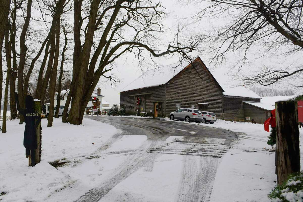A view of the Kleinke Farm, started by Paul Kleinke and now run by by his grandchildren, seen here on Tuesday, Dec. 12, 2017, in Glenmont, N.Y. (Paul Buckowski / Times Union)