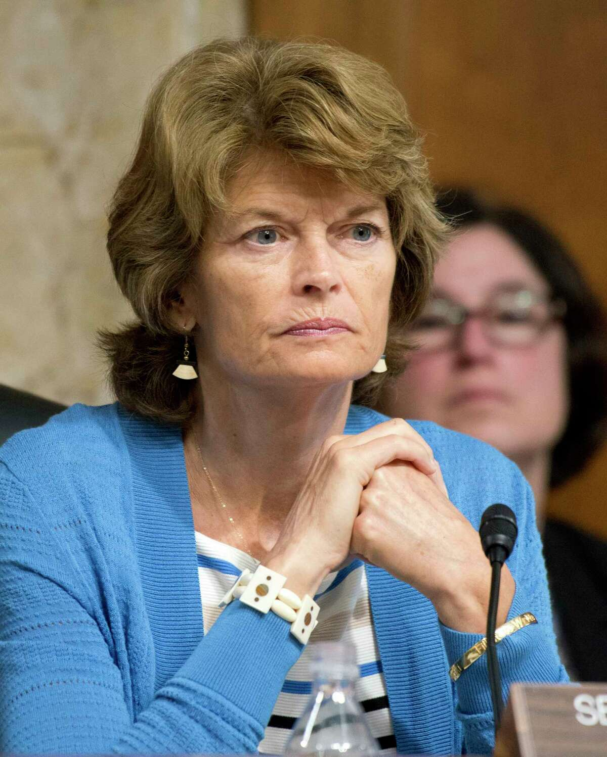 U.S. Sen. Lisa Murkowski (R-Alaska), chairwoman of the Senate Committee on Energy and Resources, shown on June 20, 2017 on Capitol Hill in Washington, D.C. (Ron Sachs/CNP/Sipa USA/TNS)