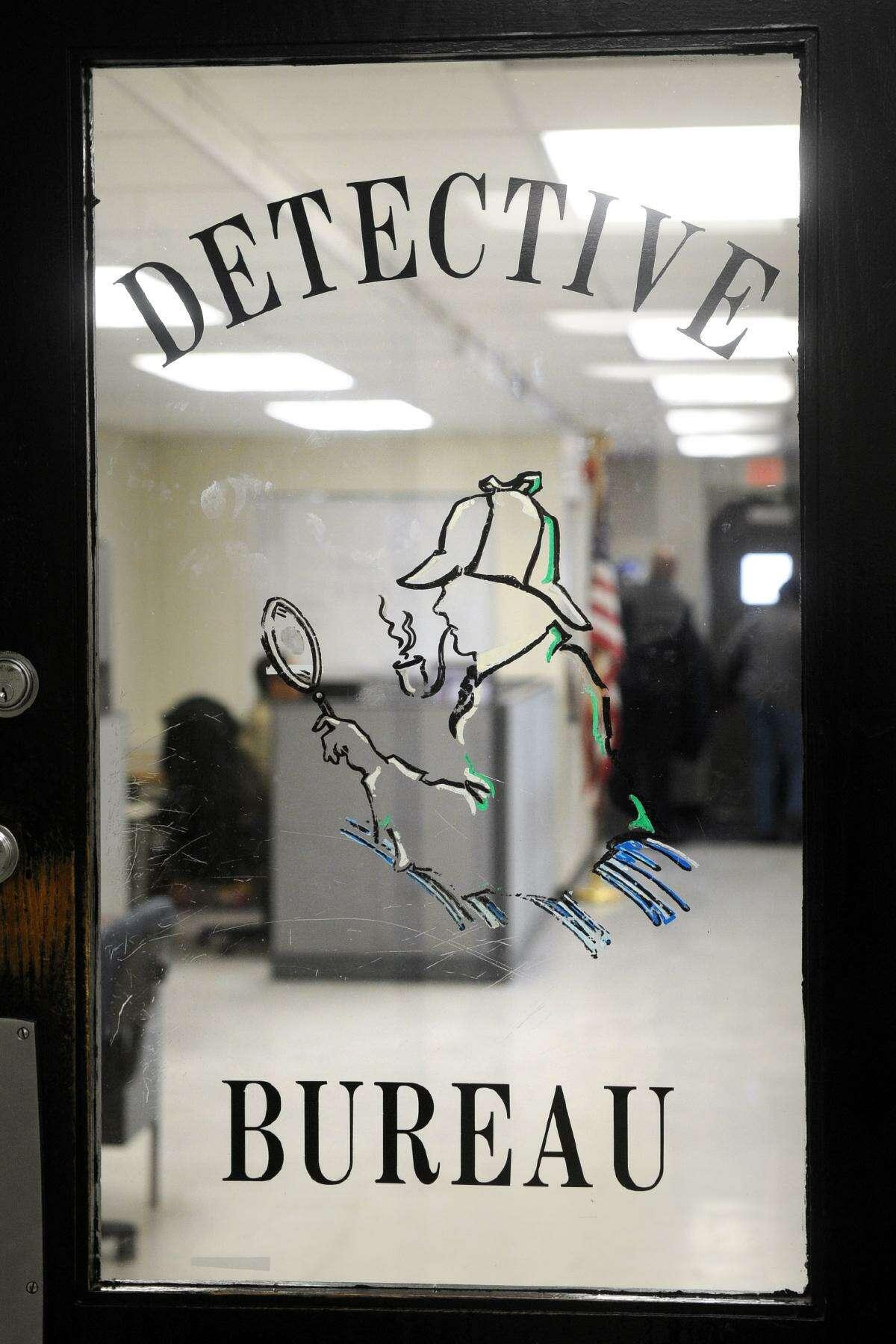 The Detective?'s Bureau of the Bridgeport Police Department, in Bridgeport, Conn. Dec. 15, 2017.