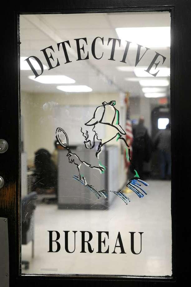 The Detective's Bureau of the Bridgeport Police Department, in Bridgeport, Conn. Dec. 15, 2017. Photo: Ned Gerard / Hearst Connecticut Media / Connecticut Post